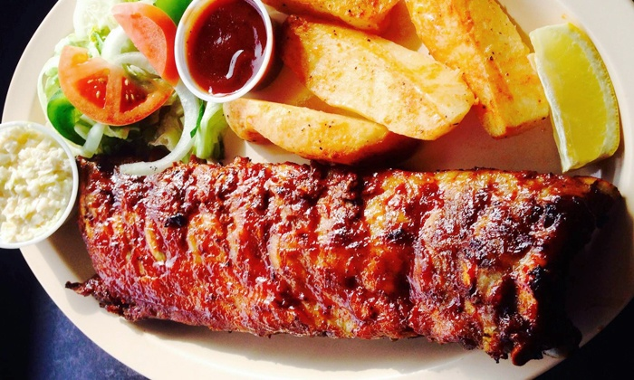 Parrilla Express - Berwyn: International Comfort Food at Parrilla Express (Up to 50% Off). Two Options Available.