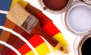 Deck Wonders LLC: $225 for $500 Groupon — Prep Work and Two Coats of Paint for One  Room from Deck Wonders