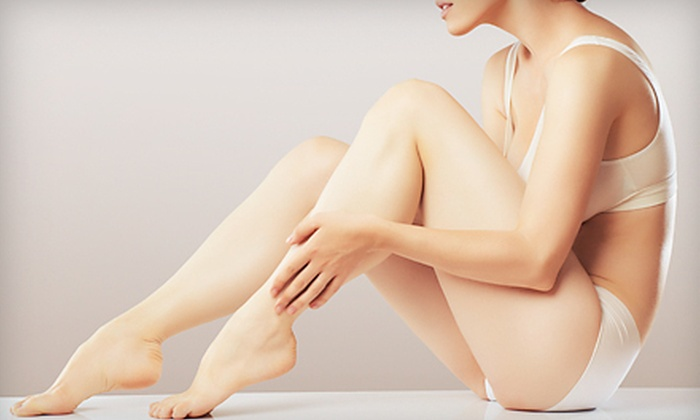 Silky Skin Laser & Esthetics Centre - Multiple Locations: $99 for Three Laser Hair-Removal Treatments at Silky Skin Laser & Esthetics Centre (Up to $555 Value)