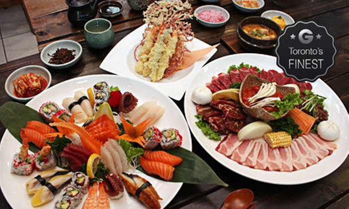 Arisu - Seaton Village: $20 for $40 Worth of Upscale Japanese and Korean Cuisine and Drinks at Arisu