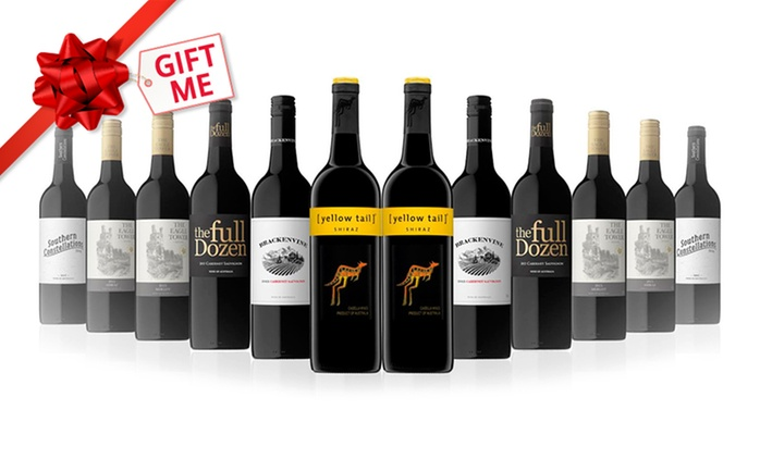 $59 for 12 Mixed Bottles of Red Wine (Don't Pay $189)