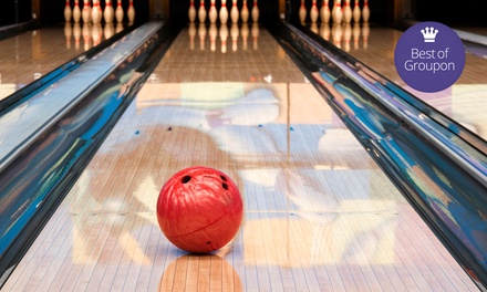 $20 for One Hour of Bowling and Shoe Rentals for Four at Armadilla Lanes ($42 Value). Two Locations Available.