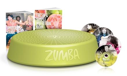 Zumba Step Rizer avec DVD, guide de programme et plan de résultats rapide