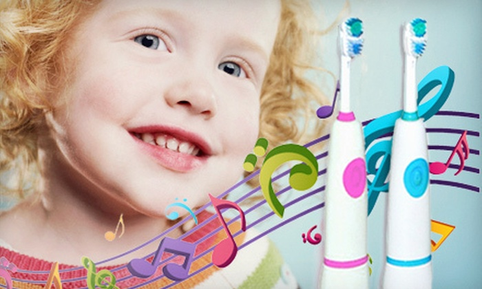 Smile Bright Teeth Whitening: $27 for a Children's Sonic Electric Singing Toothbrush with Shipping from Smile Bright Teeth Whitening ($94 Value)