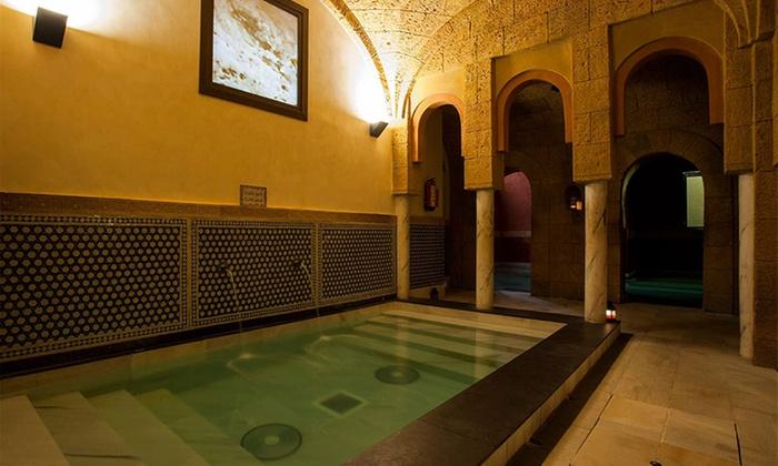 Baños árabes y cromoterapia en Cádiz por 13,50€/pers