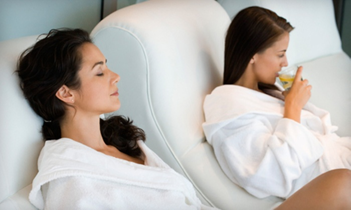 Gabrielle's Salon & Day Spa - Wooten: $59 for a Girls' Night Out Spa Experience at Gabrielle's Salon & Day Spa (Up to $132 Value). Three Dates Available.
