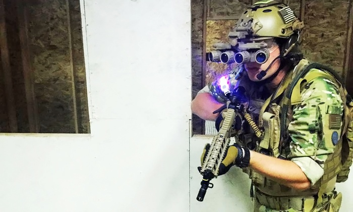 MilSim City - MilSim City Indoor Airsoft Arena: Airsoft Combat Package for Two, Four, or Six at MilSim City Indoor Airsoft Arena (Up to 47% Off)