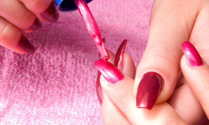 House of Imago - Normal Heights: $35 for Pink and White Gel Manicure at House of Imago ($70 Value)