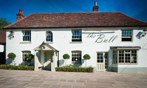 The Bull and Willow Room: Three-Course Meal with a Glass of Prosecco or Wine at Michelin-Listed The Bull and Willow Room (Up to 51% Off)