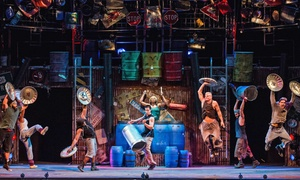 """stomp"" At Orpheum Theatre On January 6–february 8 (up To 44% Off)"