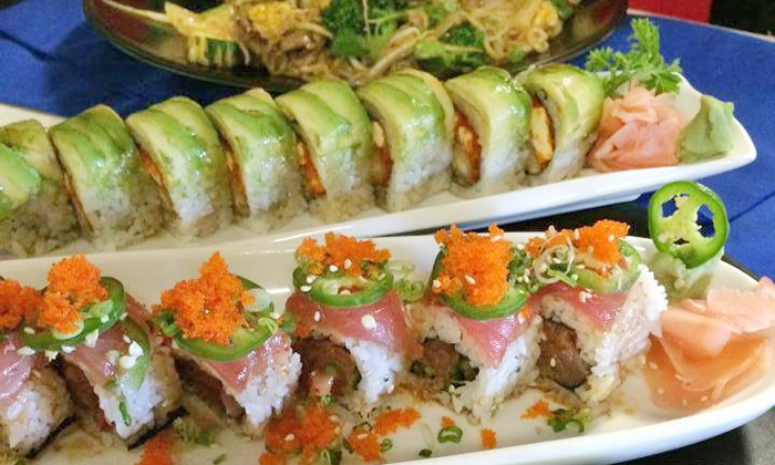 Joto Thai Sushi - Clearwater: $12 for $20 Worth of Sushi and Thai Dinner for Two at Joto Thai Sushi
