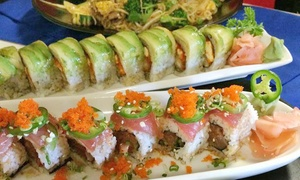 Joto Thai Sushi: $12 for $20 Worth of Sushi and Thai Dinner for Two at Joto Thai Sushi