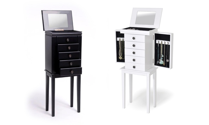 meuble rangement maquillage groupon shopping. Black Bedroom Furniture Sets. Home Design Ideas