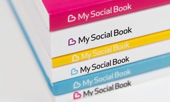 My Social Book: 100- or 150-Page Softcover Facebook Album from My Social Book (Up to 66% Off). Shipping Included.