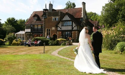 image for Wedding Package for 50 Day and 75 Evening Guests at Farnham House Hotel (50% Off)