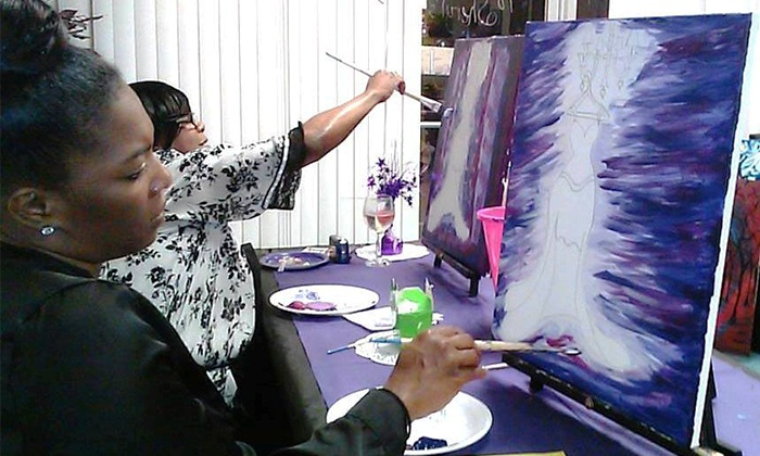 Creative Expressions Art Studio - Creative Expressions: Three-Hour BYOB Painting Class for One, Two, or Four at Creative Expressions Art Studio (Up to 72% Off)