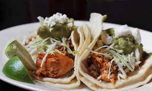 Texicali Taco & Tequila Bar: Mexican Food at Texicali Taco & Tequila Bar (40% Off). Two Options Available.