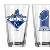 MLB Kansas City Royals 2015 World Series Champions Pint Glasses (Set of 2)