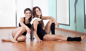 Innovative Fitness: Yoga or Pole-Vertical Fitness Classes at Innovative Fitness (Up to 57% Off). Four Options Available.