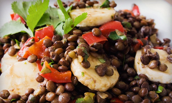 Absolutely Edibles Real Food Fusion Restaurant - Edmonton: $15 for $30 Worth of Fusion Food and Drinks at Absolutely Edibles Real Food Fusion Restaurant