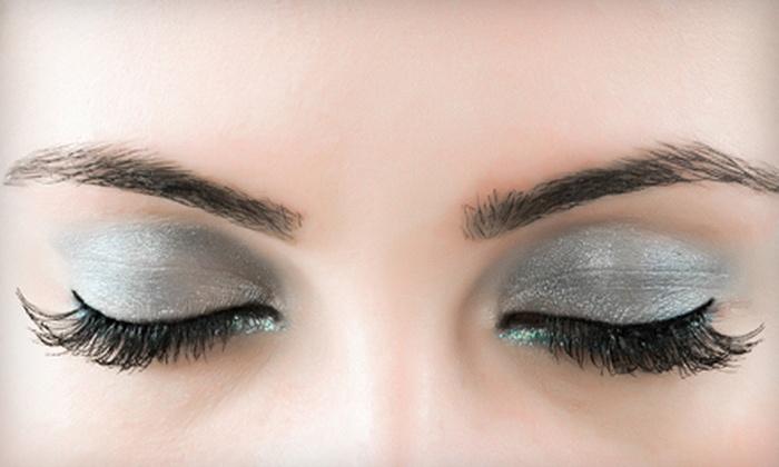 Eye Candi Concept Salon - Boston: Three Semi-Permanent Eyebrow or Eyelash Tints, or Both at Eye Candi Concept Salon (Up to 56% Off)
