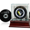 Autographed NHL Hockey Puck or Glass Display Case