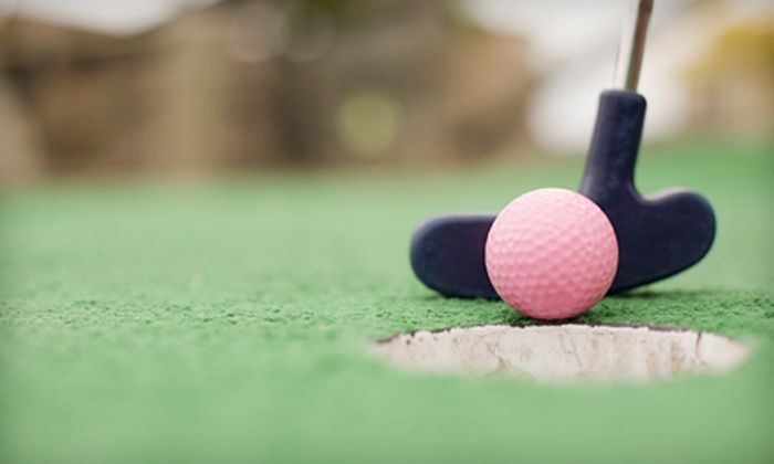 Tropical Gardens Miniature Golf - Asheville: $7 for Mini Golf for Two at Tropical Gardens Miniature Golf ($14 Value)