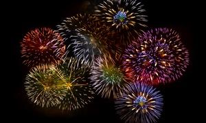 Rocket Fireworks: $19.99 for a Bahama Mama Fireworks Cake, One Mr. Tortoise, and a $5 Credit at Rocket Fireworks CA ($50 Value)