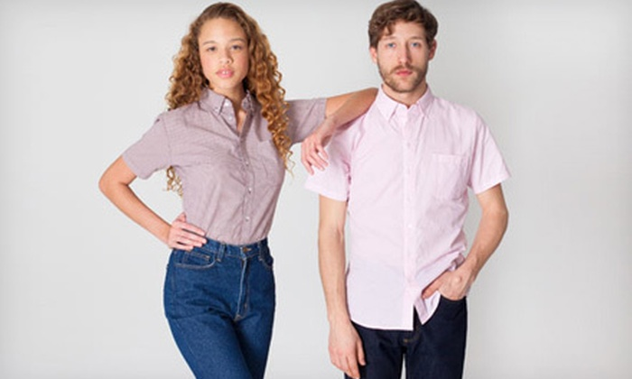 American Apparel - SoHo: $10 for $20 Worth of Clothing from American Apparel SoHo Factory Outlet