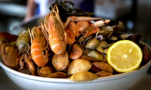 The Cajun Crab: Cajun and Thai Food for Two or More at The Cajun Crab (Up to 40% Off)