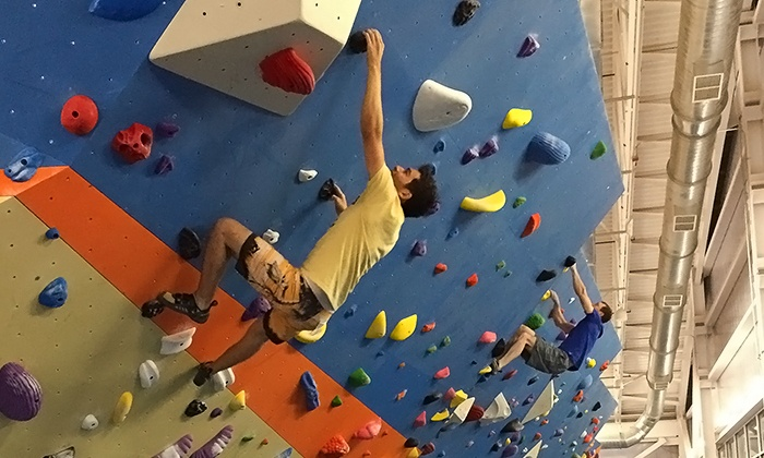 Stone Summit Climbing - Multiple Locations: Full-Day Indoor-Climbing Passes with Rental Gear for Two or Four at Stone Summit (Up to 44% Off)