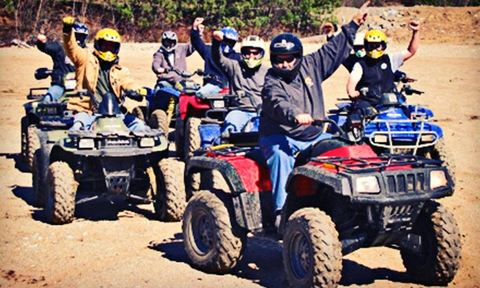 Out Back Kayak - Lincoln: Kayak or ATV Tour for Two with Barbecue Meal or Guided Snowmobile Tour for Two from Out Back Kayak (Up to 58% Off)