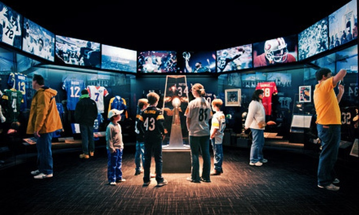 Senator John Heinz History Center - Strip District: Football Hall of Fame Exhibit Visit for Two or a Family Membership to Senator John Heinz History Center (Up to 51% Off)