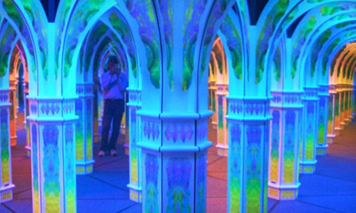 Magowan's Infinite Mirror Maze - Beach Street & The Embarcadero (Pier 39/Fisherman's Wharf): Visit for 2, 4, 6, or 15 to Magowan's Infinite Mirror Maze (Up to 51% Off)
