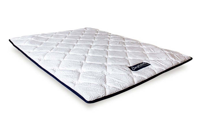 surmatelas empreinte sampur groupon shopping. Black Bedroom Furniture Sets. Home Design Ideas