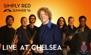 Simply Red: Simply Red in Concert at Royal Hospital Chelsea, Sunday 19th June: From £48.50