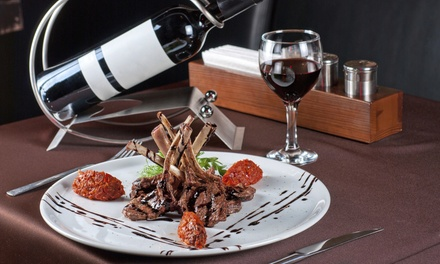 Dinner with Wine for Two or Four at 13.5% Wine Bar
