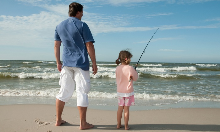 Let's Go Fishing CC TX - Multiple Locations: Surf/Pier Fishing for Adults or Kids at Lets Go Fishing CC TX (Up to 64% Off). Four Options Available.