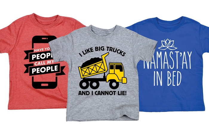 198a5499 Funny Toddler Tees | Groupon Goods