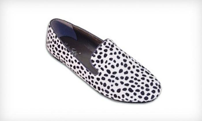Silver Leopard Tuxedo Women's Slip-Ons: $24 for a Pair of BootsiTootsi Silver Leopard Tuxedo Women's Casual Slip-Ons ($46 List Price). Free Shipping.