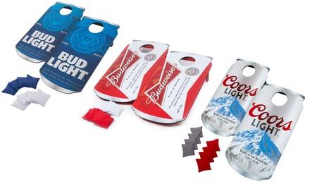 Beverage-Themed Bean Bag Toss Game Set