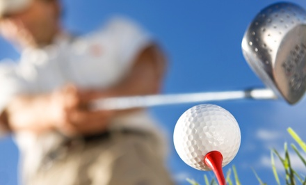 Up to 75% Off at Club Golf