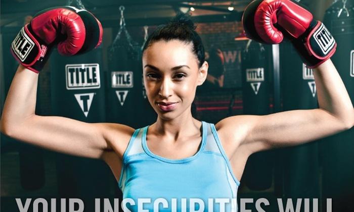 Title Boxing Club - Wayzata - Plymouth - Wayzata: Four Weeks of Unlimited Boxing or Kickboxing Classes at TITLE Boxing Club - Wayzata (56% Off)
