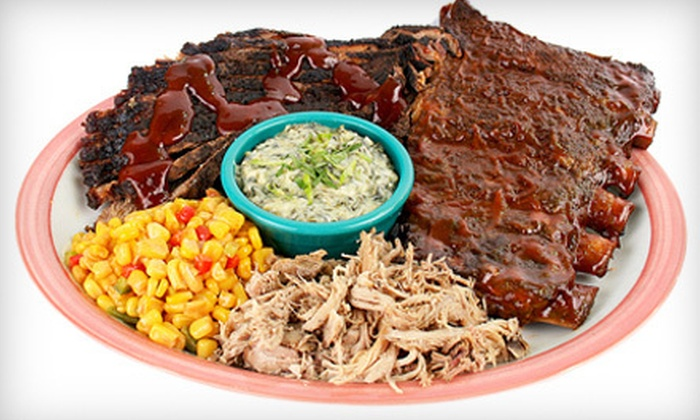 Memphis Mae's BBQ Bistro - Croton-on-Hudson: Barbecue Dinner with Appetizers, Entrees, and Beer for Two or Four at Memphis Mae's BBQ Bistro (Up to 54% Off)