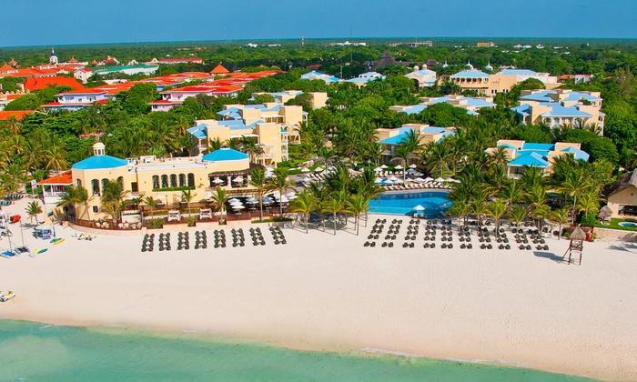 3-Night All-Inclusive Playa del Carmen Vacation with Airfare
