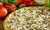Buck's Pizza - Multiple Locations: Pizza Meal with Large Specialty Pizza, Breadsticks, Large Salad, and Soda for Two or a Family at Buck's Pizza (Up to 56% Off)