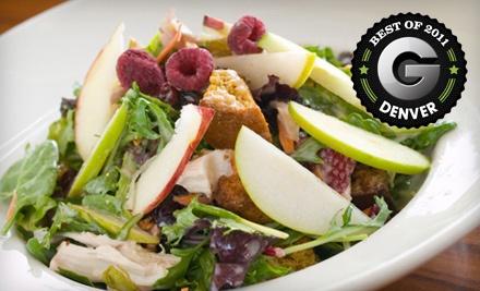 $40 Groupon to Rialto Cafe - Rialto Cafe in Denver