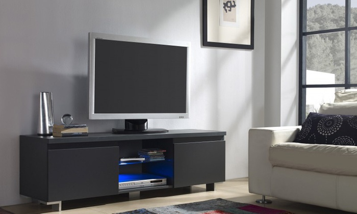 meuble tv led groupon shopping. Black Bedroom Furniture Sets. Home Design Ideas