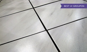 Alpha Omega Carpet Care: $45 for Tile and Grout Cleaning for Up to 500 Square Feet from Alpha Omega Carpet Care ($200 Value)