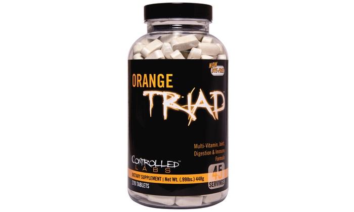 Orange Triad Multi-Vitamin 270Ct
